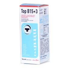 Top B15 +3 x 30ml. solución vigorizante y coadyuvante para el restablecimiento de los animales convalecientes.